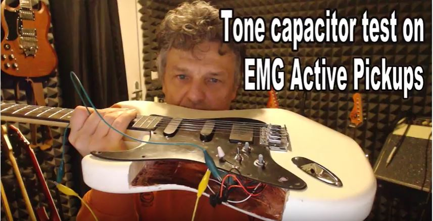 Guitar Tone Capacitors – Testing Different Values for an EMG SSH Stratocaster Pickguard
