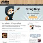 Leçons de guitare faciles étape par étape pour les débutants |  Salon de cours de guitare