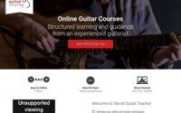 Prenez des cours de guitare en ligne avec le professeur de guitare secret