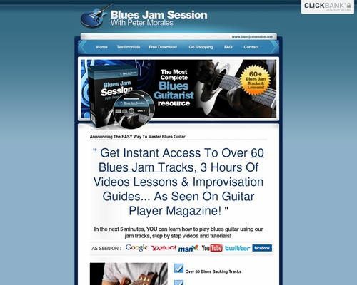 60 of the Best Blues Backing Tracks – Download Blues Jam Tracks – Blues Jam Session with Peter Morales