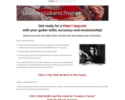 Advanced Guitar with Express Guitar Volume 2 – The Advancing Guitarist
