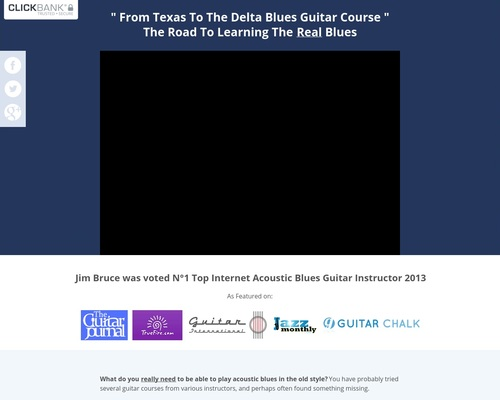 From Texas to the Delta – acoustic blues guitar lessons