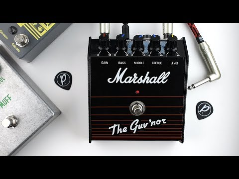 Layouts for perf and PCB effects: Marshall Guv'nor