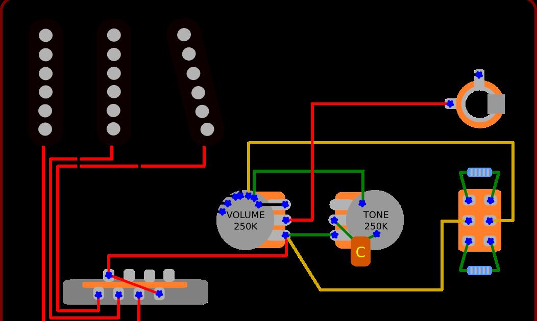 Warm Bright Switch Guitar Gear Geek, Stratocaster Wiring Diagram