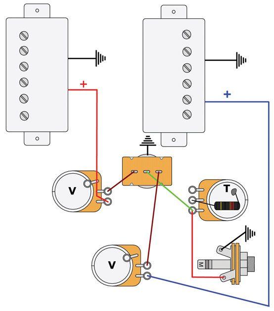 Mod Garage: Les Paul Master Wiring #2