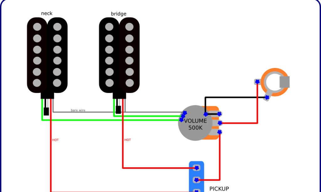 Simple Wiring in the Music Man Axis Style