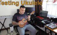 testing Ukulele