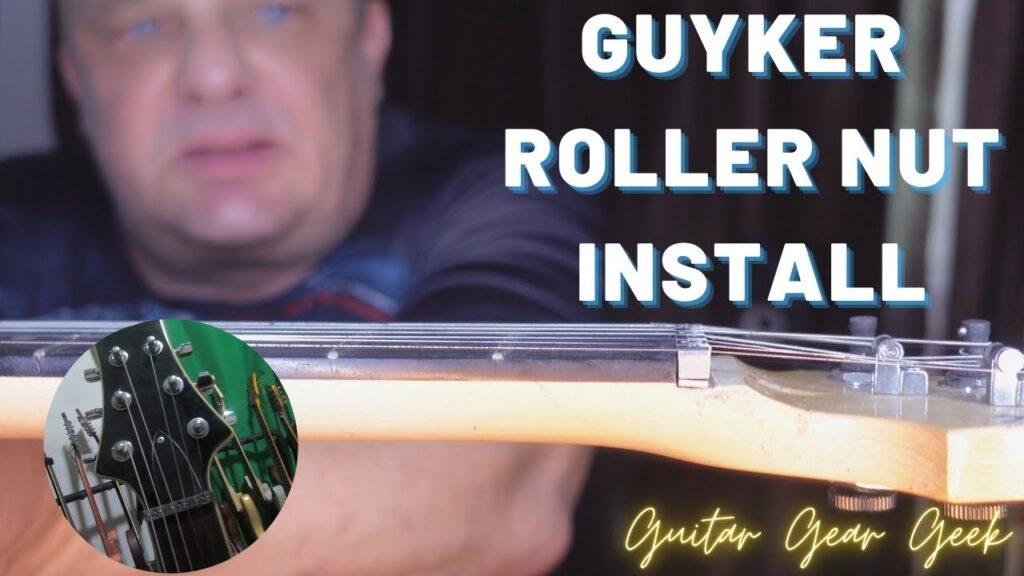 Guyker Roller Nut installation - Fender LSR Alternative & Comparison