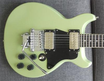 Eagle. Butterfly electric guitar custom shop Jackson 24
